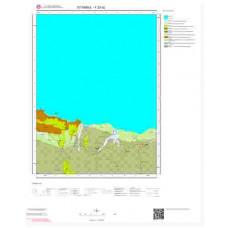 F23d2 Paftası 1/25.000 Ölçekli Vektör Jeoloji Haritası