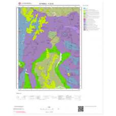 F23d3 Paftası 1/25.000 Ölçekli Vektör Jeoloji Haritası