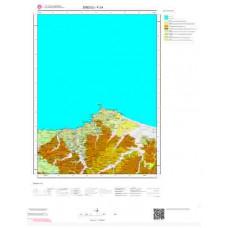F 24 Paftası 1/100.000 ölçekli Jeoloji Haritası