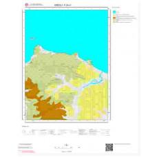F24c1 Paftası 1/25.000 Ölçekli Vektör Jeoloji Haritası