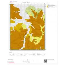 F24c3 Paftası 1/25.000 Ölçekli Vektör Jeoloji Haritası