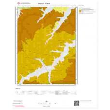 F24c4 Paftası 1/25.000 Ölçekli Vektör Jeoloji Haritası