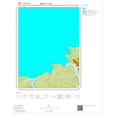F24d2 Paftası 1/25.000 Ölçekli Vektör Jeoloji Haritası