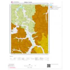 F24d3 Paftası 1/25.000 Ölçekli Vektör Jeoloji Haritası