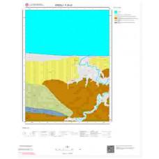 F25c3 Paftası 1/25.000 Ölçekli Vektör Jeoloji Haritası