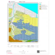 F 25-d3 Paftası 1/25.000 ölçekli Jeoloji Haritası