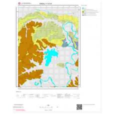 F 25-d4 Paftası 1/25.000 ölçekli Jeoloji Haritası