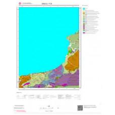 F 26 Paftası 1/100.000 ölçekli Jeoloji Haritası