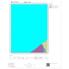 F26c1 Paftası 1/25.000 Ölçekli Vektör Jeoloji Haritası