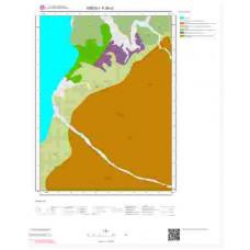 F26c2 Paftası 1/25.000 Ölçekli Vektör Jeoloji Haritası