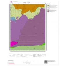 F26c3 Paftası 1/25.000 Ölçekli Vektör Jeoloji Haritası