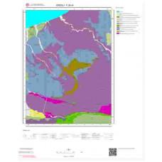 F26c4 Paftası 1/25.000 Ölçekli Vektör Jeoloji Haritası