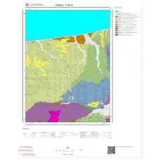 F26d3 Paftası 1/25.000 Ölçekli Vektör Jeoloji Haritası