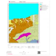 F26d4 Paftası 1/25.000 Ölçekli Vektör Jeoloji Haritası