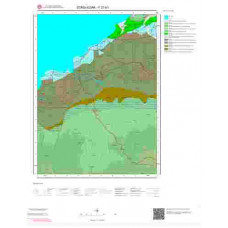 F27b1 Paftası 1/25.000 Ölçekli Vektör Jeoloji Haritası