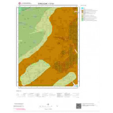 F27b3 Paftası 1/25.000 Ölçekli Vektör Jeoloji Haritası
