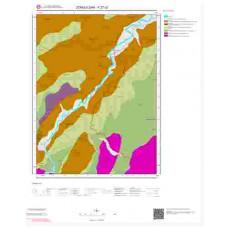 F27c2 Paftası 1/25.000 Ölçekli Vektör Jeoloji Haritası