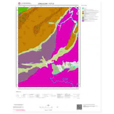 F27c4 Paftası 1/25.000 Ölçekli Vektör Jeoloji Haritası