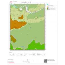 F27d2 Paftası 1/25.000 Ölçekli Vektör Jeoloji Haritası