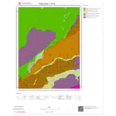 F27d3 Paftası 1/25.000 Ölçekli Vektör Jeoloji Haritası