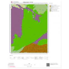 F27d4 Paftası 1/25.000 Ölçekli Vektör Jeoloji Haritası