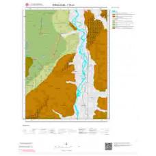 F28a1 Paftası 1/25.000 Ölçekli Vektör Jeoloji Haritası