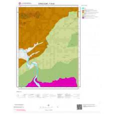 F28a3 Paftası 1/25.000 Ölçekli Vektör Jeoloji Haritası