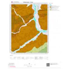 F28a4 Paftası 1/25.000 Ölçekli Vektör Jeoloji Haritası