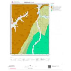 F28b1 Paftası 1/25.000 Ölçekli Vektör Jeoloji Haritası