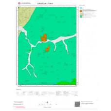 F28b2 Paftası 1/25.000 Ölçekli Vektör Jeoloji Haritası