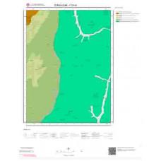 F28b4 Paftası 1/25.000 Ölçekli Vektör Jeoloji Haritası