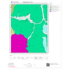 F28c1 Paftası 1/25.000 Ölçekli Vektör Jeoloji Haritası