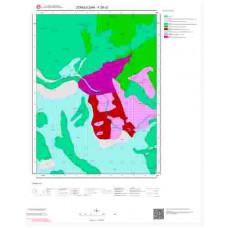 F28c2 Paftası 1/25.000 Ölçekli Vektör Jeoloji Haritası