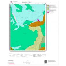 F28c3 Paftası 1/25.000 Ölçekli Vektör Jeoloji Haritası