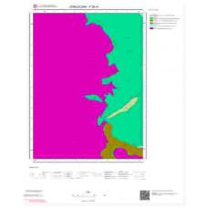 F28c4 Paftası 1/25.000 Ölçekli Vektör Jeoloji Haritası