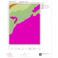 F28d1 Paftası 1/25.000 Ölçekli Vektör Jeoloji Haritası