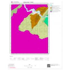F28d2 Paftası 1/25.000 Ölçekli Vektör Jeoloji Haritası