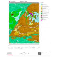 F29 Paftası 1/100.000 Ölçekli Vektör Jeoloji Haritası