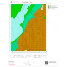 F29a3 Paftası 1/25.000 Ölçekli Vektör Jeoloji Haritası