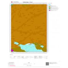 F29b2 Paftası 1/25.000 Ölçekli Vektör Jeoloji Haritası