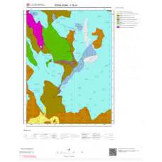 F29b3 Paftası 1/25.000 Ölçekli Vektör Jeoloji Haritası
