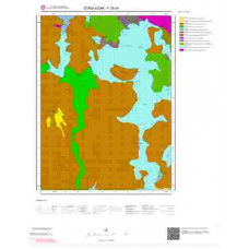 F29b4 Paftası 1/25.000 Ölçekli Vektör Jeoloji Haritası