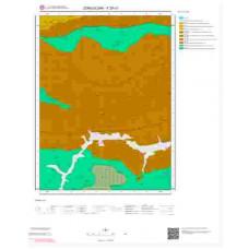 F29c3 Paftası 1/25.000 Ölçekli Vektör Jeoloji Haritası