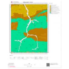 F29c4 Paftası 1/25.000 Ölçekli Vektör Jeoloji Haritası