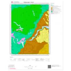 F29d1 Paftası 1/25.000 Ölçekli Vektör Jeoloji Haritası