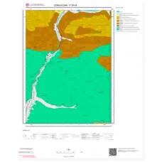 F29d3 Paftası 1/25.000 Ölçekli Vektör Jeoloji Haritası