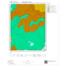 F29d4 Paftası 1/25.000 Ölçekli Vektör Jeoloji Haritası