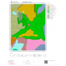 F30a2 Paftası 1/25.000 Ölçekli Vektör Jeoloji Haritası