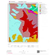 F30a4 Paftası 1/25.000 Ölçekli Vektör Jeoloji Haritası