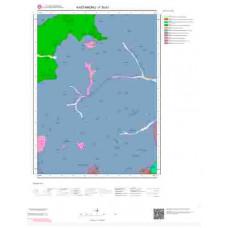 F30b1 Paftası 1/25.000 Ölçekli Vektör Jeoloji Haritası